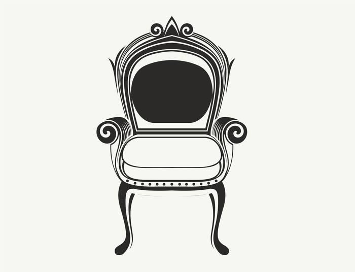 Наклейки Кресло