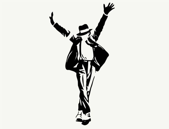 Наклейки Майкл Джексон