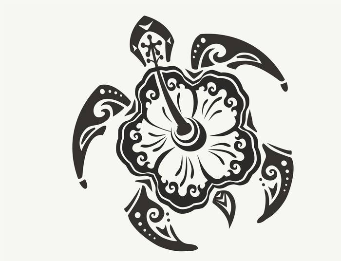 Наклейки Черепаха