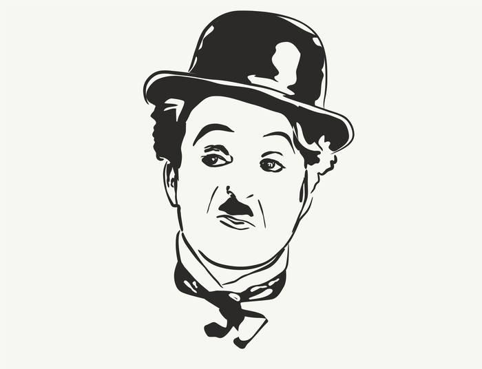 Наклейки Чарли Чаплин