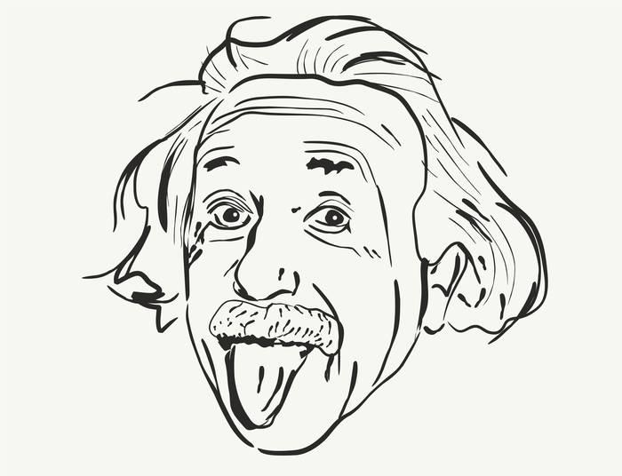 Наклейки Энштейн