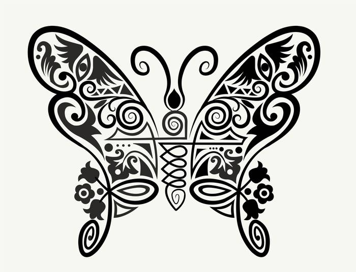 Наклейки Бабочка