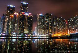 Огни ночного города, дизайн #05823