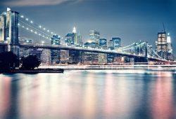 Огни Бруклинского моста, дизайн #05827
