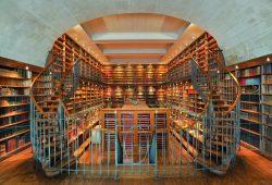 Интерьер библиотеки, дизайн #05846