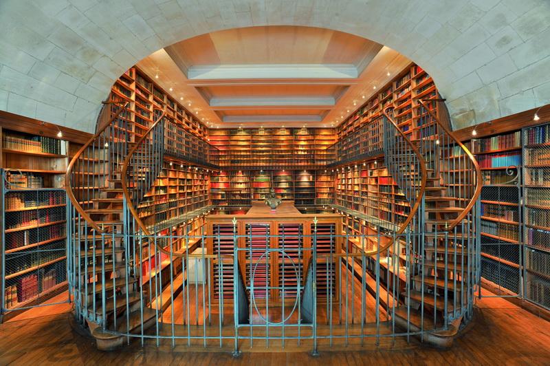 Рольшторы интерьер библиотеки 43018 изготовление и печать по.