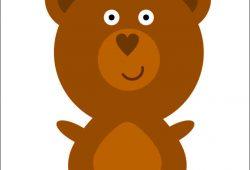 Медвежонок, дизайн #05855