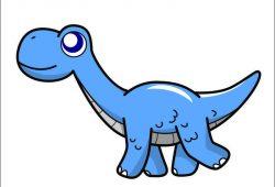 Динозаврик Платеозавр, дизайн #05868