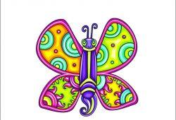 Бабочка, дизайн #05875