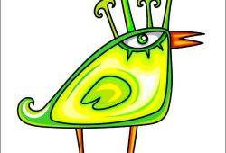 Птичка, дизайн #05877
