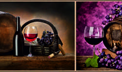 Вино в бочках, дизайн #05898