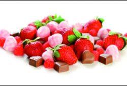 Клубника с конфетами, дизайн #05902