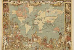 Древняя карта, дизайн #05919