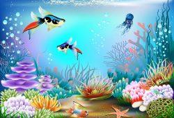 Подводный мир, дизайн #05925