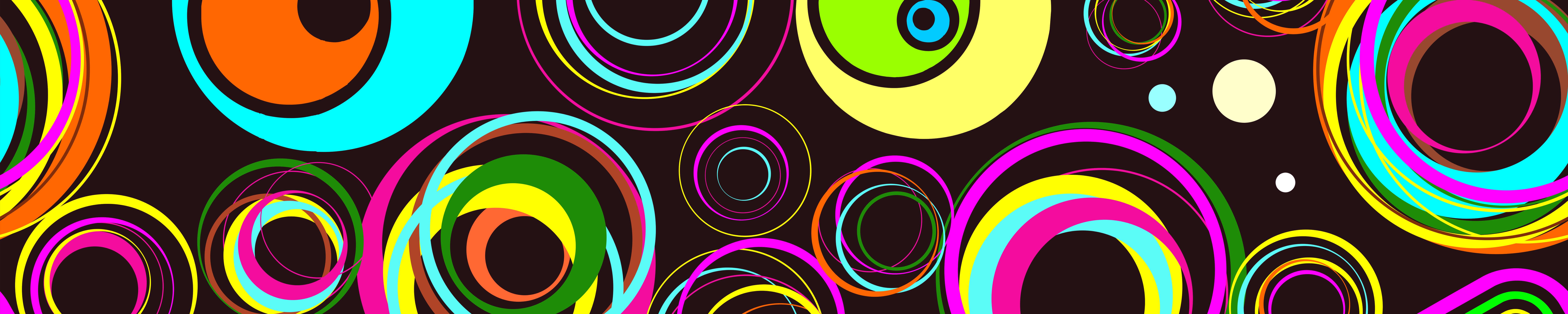 Яркие круги, дизайн #05933
