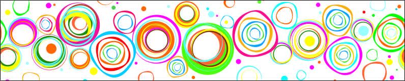 Красочные круги, дизайн #05937