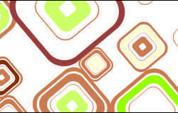 Яркие ромбы, дизайн #05938