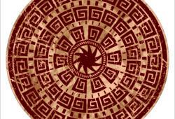 Ковёр с египетскими мотивами, дизайн #06007