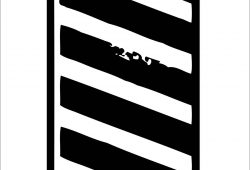 Белая зебра, дизайн #06009