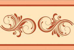 Крупный орнамент, дизайн #06013