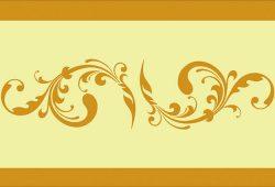 Растительный орнамент, дизайн #06018