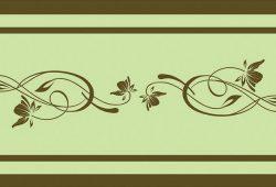 Тонкий растительный орнамент, дизайн #06023