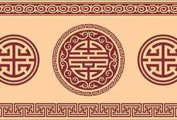 Египетский орнамент, дизайн #06035