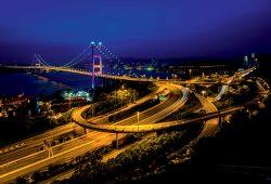 Ночной мост, дизайн #06043