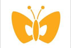 Бабочка, дизайн #06055