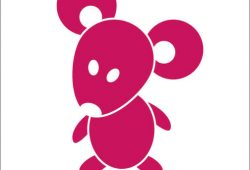 Мышка, дизайн #06059