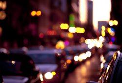 Улица в бликах, дизайн #06074