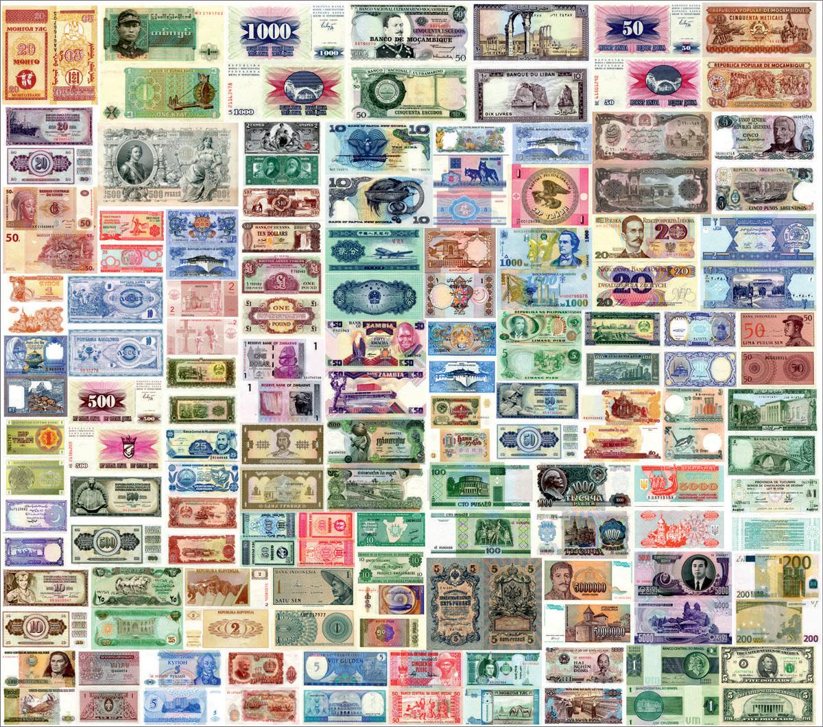 Японские панели Банкноты стран мира, дизайн #06083