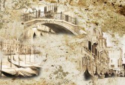 Винтажная Венеция, дизайн #06130