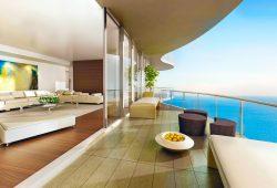 Вид с балкона, дизайн #06144