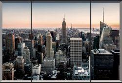 Вид на Нью-Йорк, дизайн #06161
