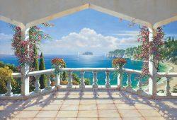 Фреска балкона, дизайн #06175