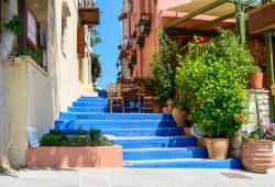 Синие ступени, дизайн #06177
