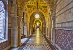 Перспектива сквозь коридор, дизайн #06216