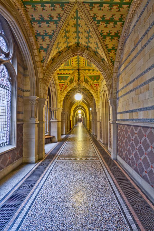 Рольшторы Перспектива сквозь коридор, дизайн #06216