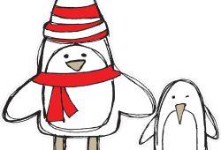 Пингвины, дизайн #06311