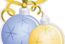 Новогодние шары, дизайн #06313
