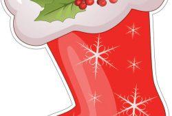 Сапог с подарками, дизайн #06315