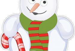 Снеговик, дизайн #06317