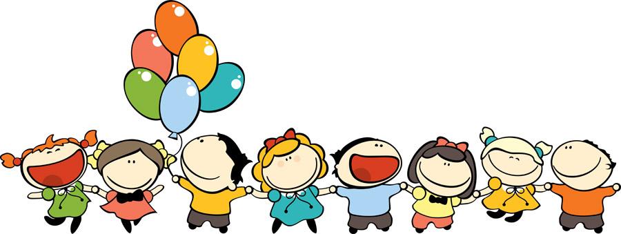 Веселые дети, дизайн #06426