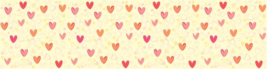 Декоративные сердечки, дизайн #06432