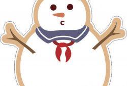 Снеговик, дизайн #06480