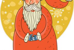 Санта Клаус, дизайн #06501