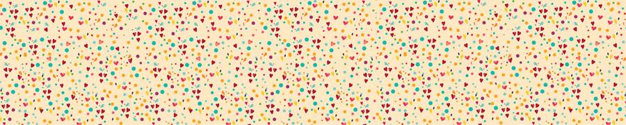 Маленькие сердечки, дизайн #06525