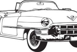 Классический автомобиль, дизайн #06635