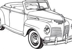 Автомобиль классический, дизайн #06642